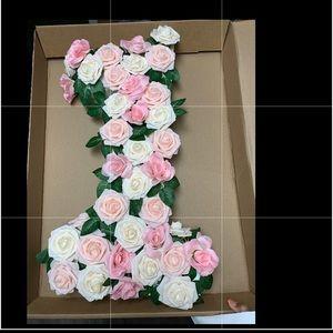 """24"""" foam floral photo prop"""